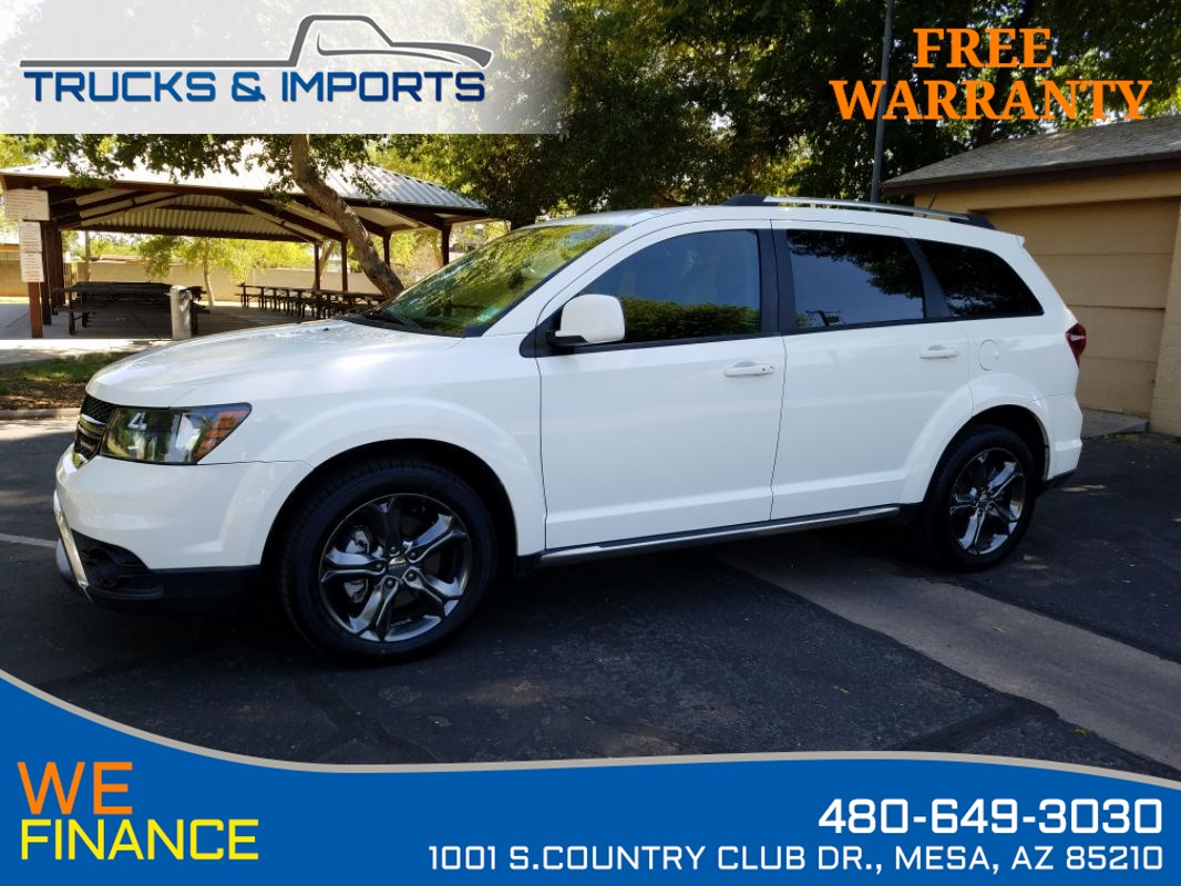 2015 Dodge Journey Crossroad 3rd Row Clean Carfax Dealership Records!