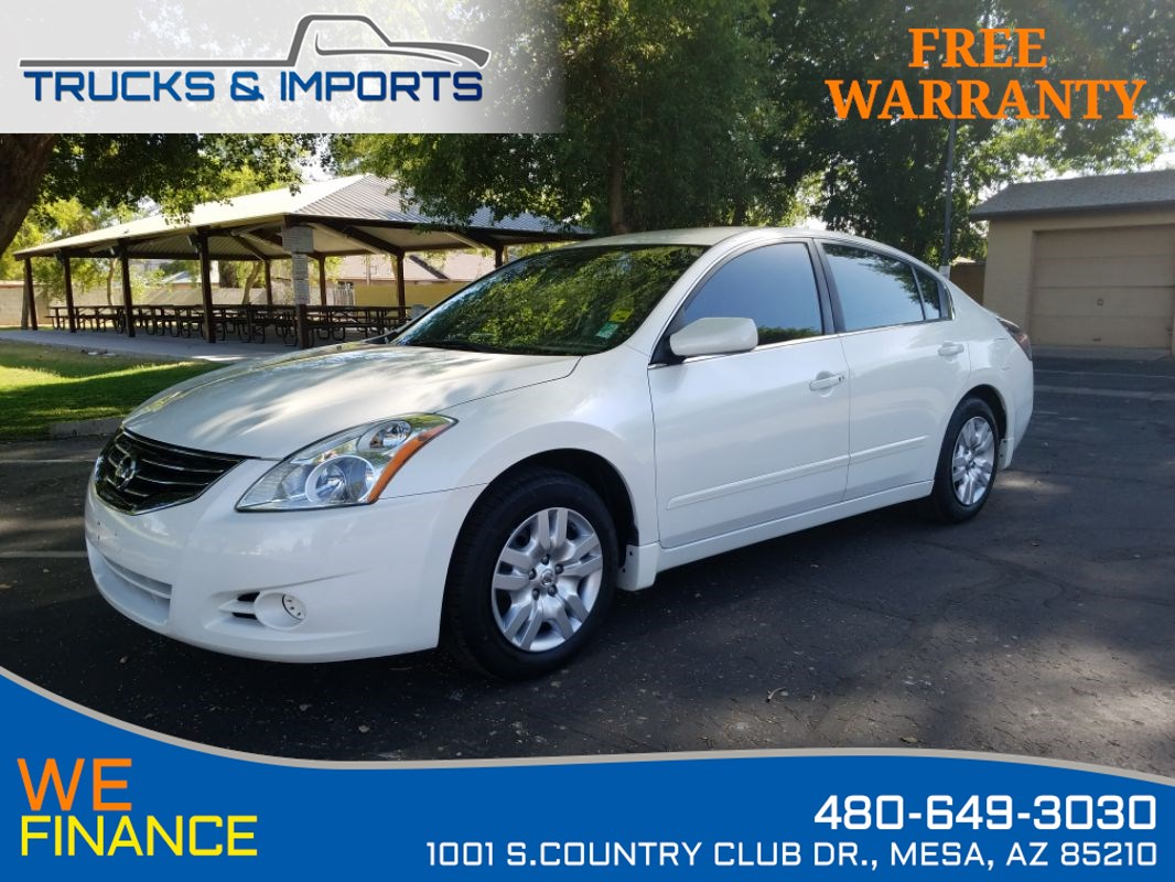 2012 Nissan Altima 2.5 S TWO in stock!
