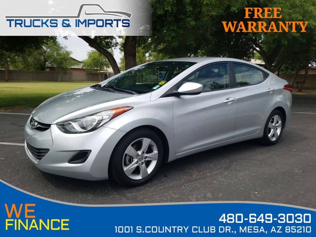 2013 Hyundai Elantra GLS 38 MPG 2 in stock!