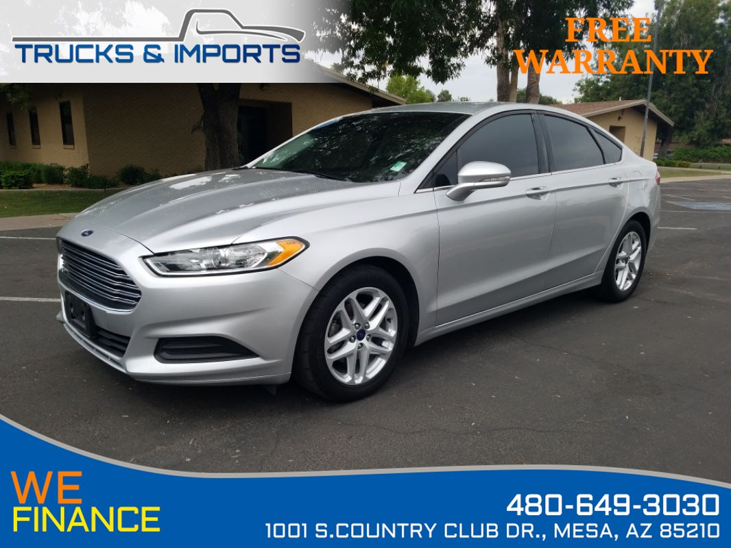 2016 Ford Fusion SE Clean CarFax 4 in stock!