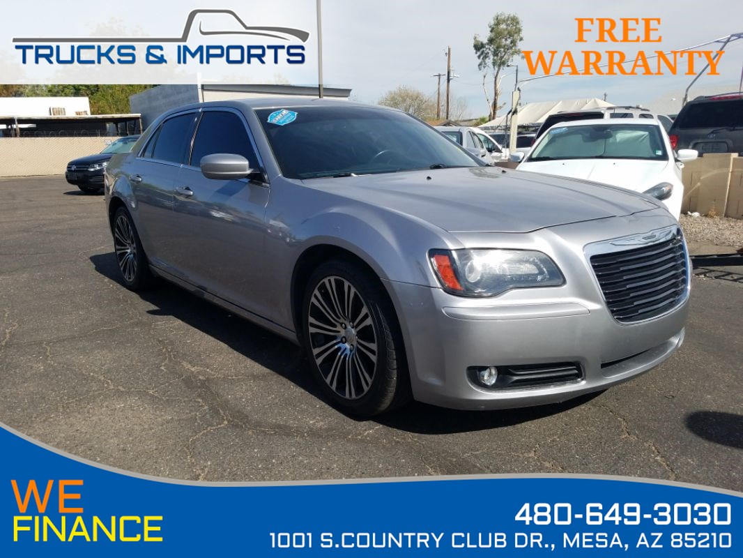 2013 Chrysler 300 300S Clean CarFax shows Detailed Service Records!