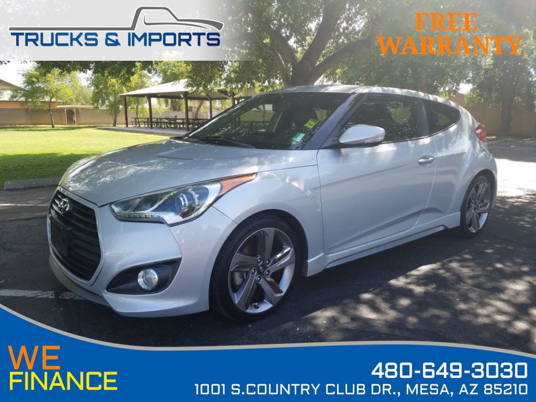 2013 Hyundai Veloster Turbo w/Black Int Clean CarFax!