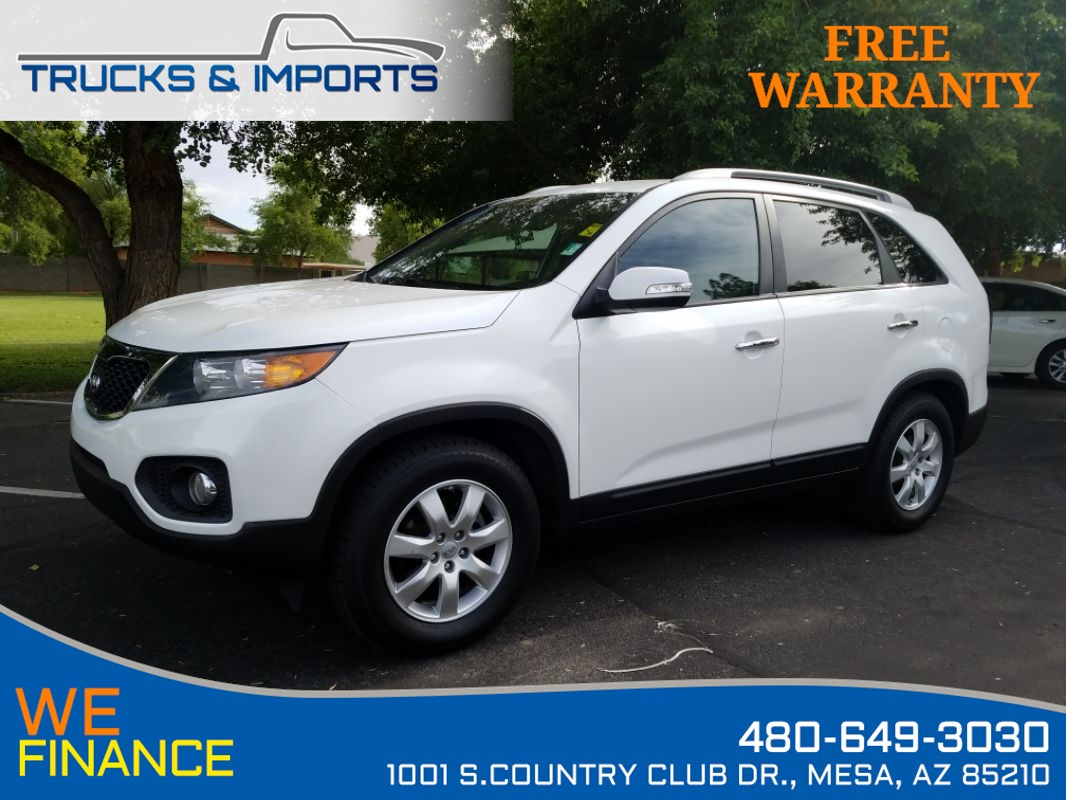 2013 Kia Sorento LX 3 in stock!