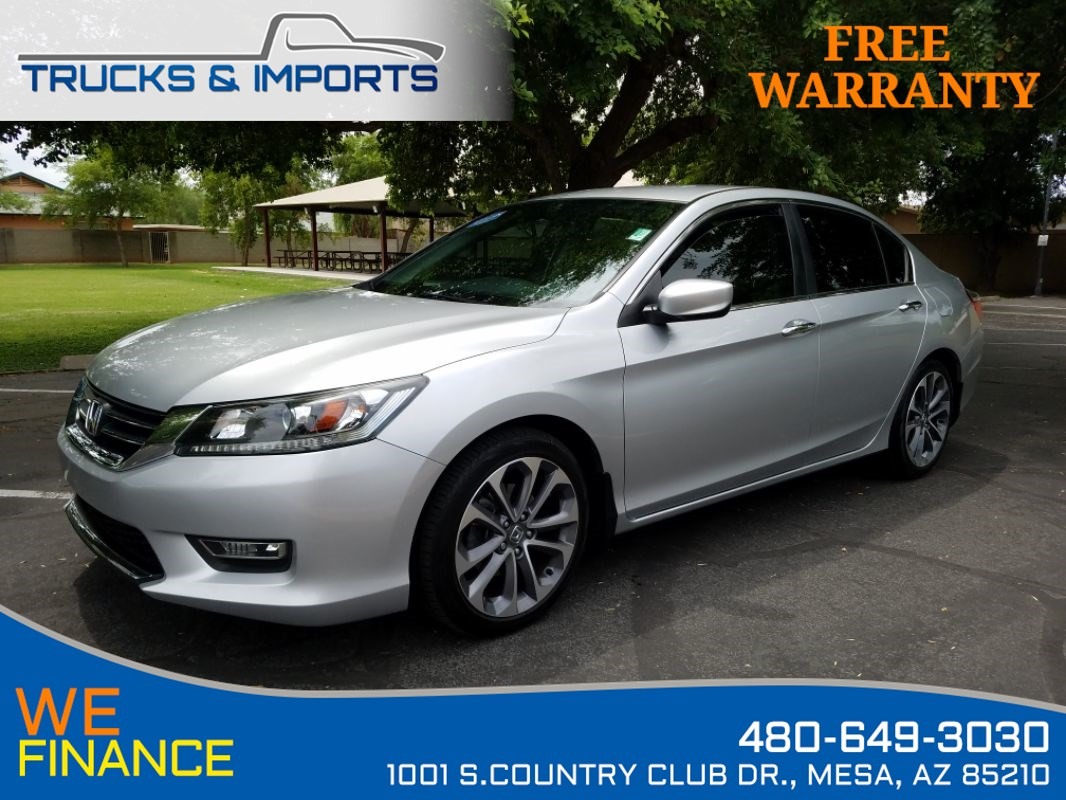 2013 Honda Accord Sdn Sport VTEC 35 MPG 2 in stock!