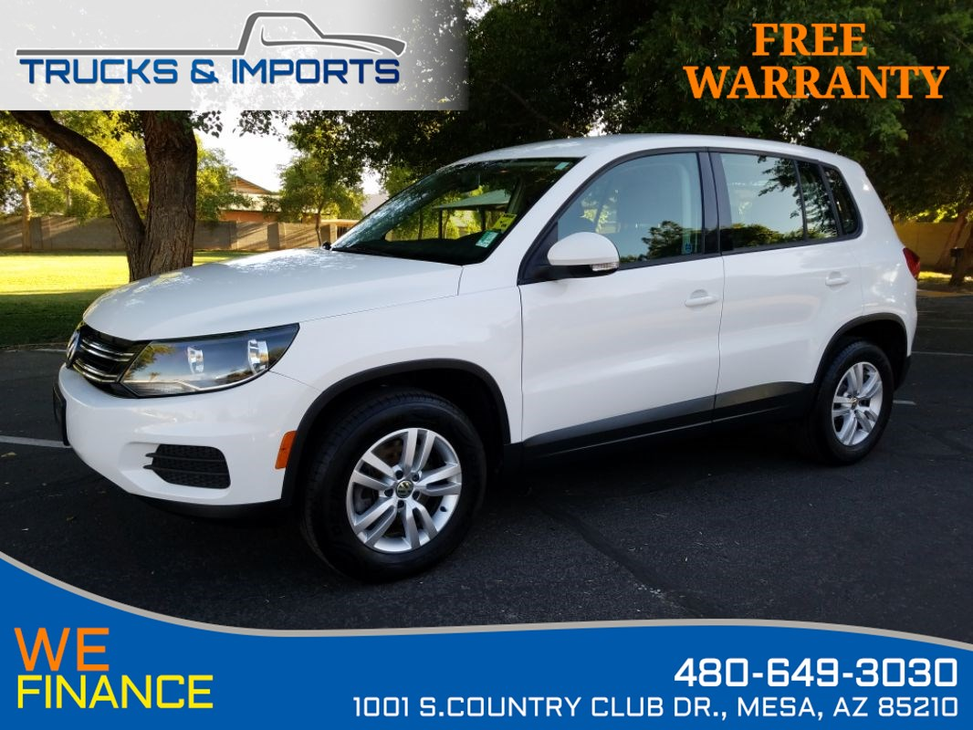 2013 Volkswagen Tiguan S Clean CarFax VW Dealership Records!