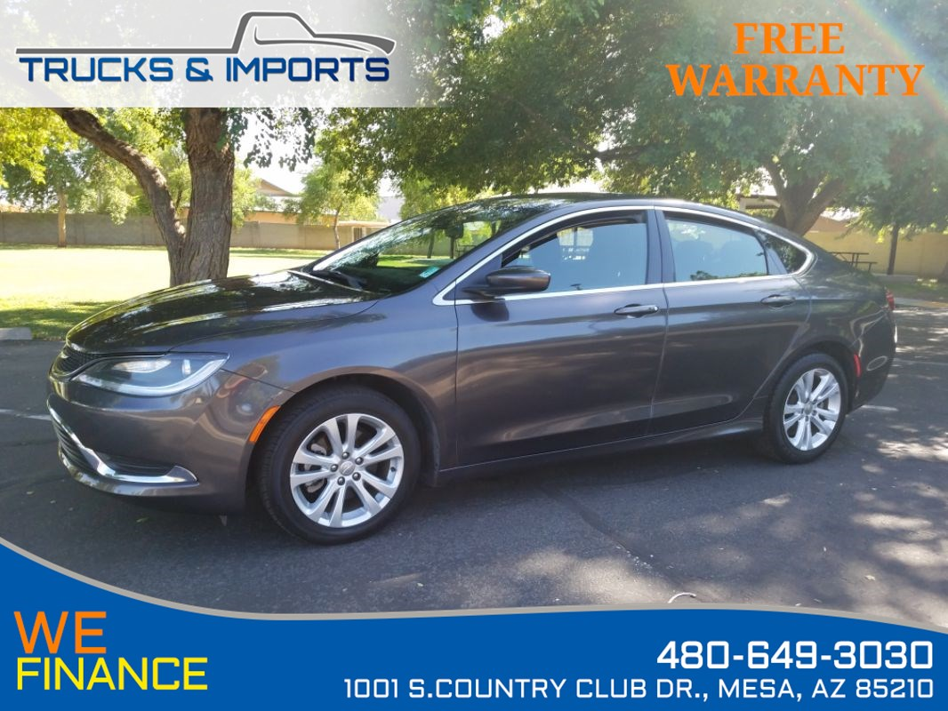Sold 2015 Chrysler 200 Limited Bluetooth Backup Camera In Mesa