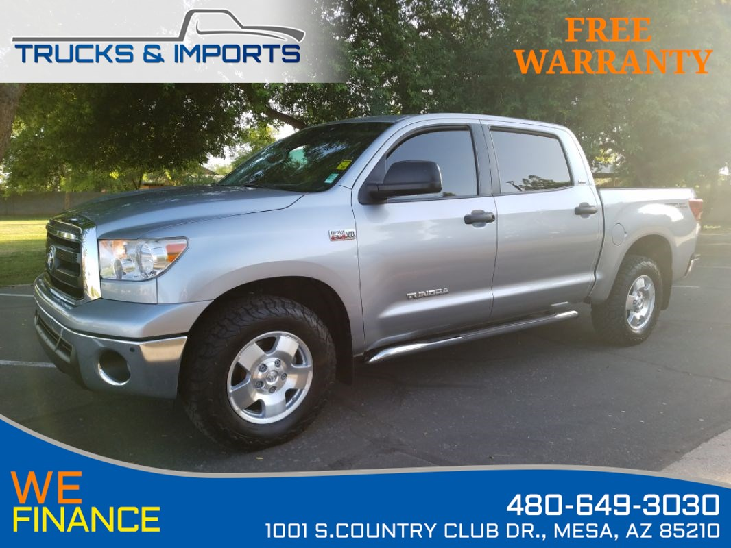2013 Toyota Tundra TRD CrewMax 4x4 One Owner Clean CarFax!
