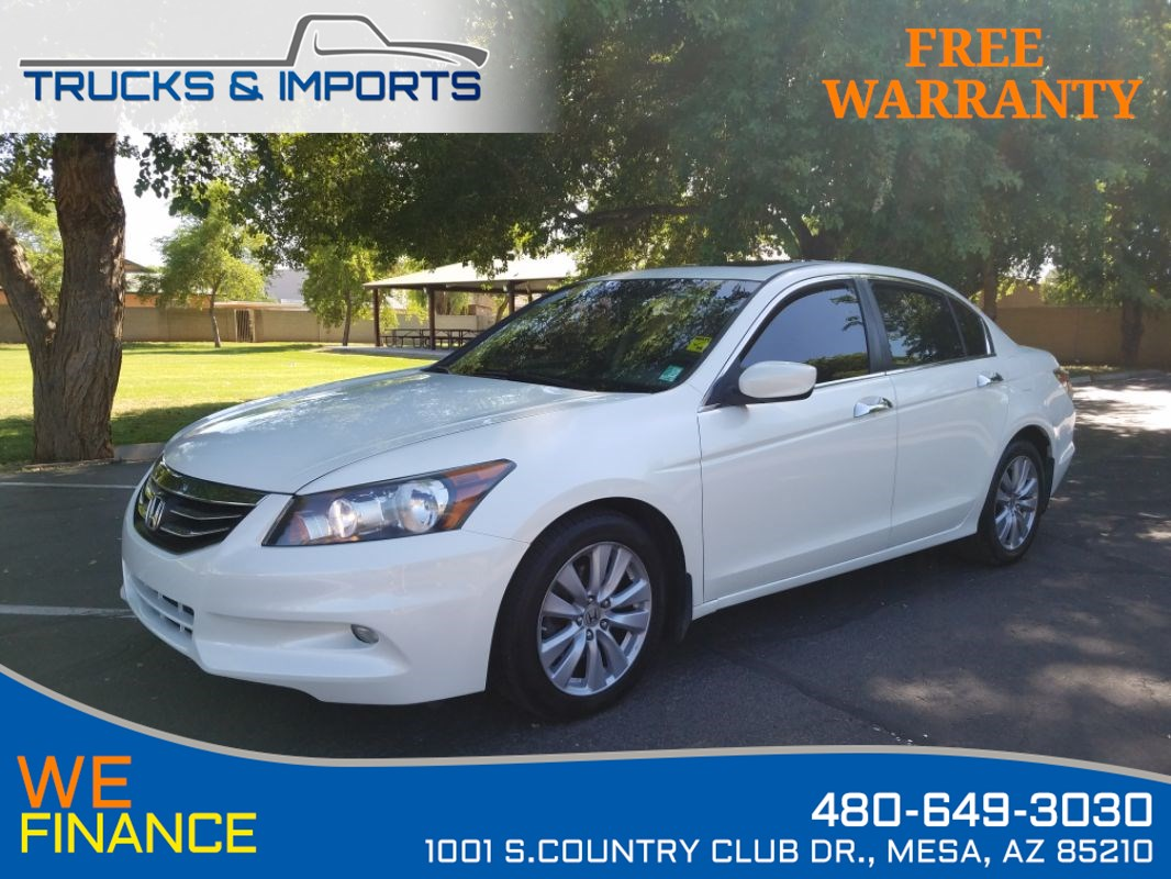 2011 Honda Accord Sdn EX-L VTEC plus Bluetooth and Navigation!