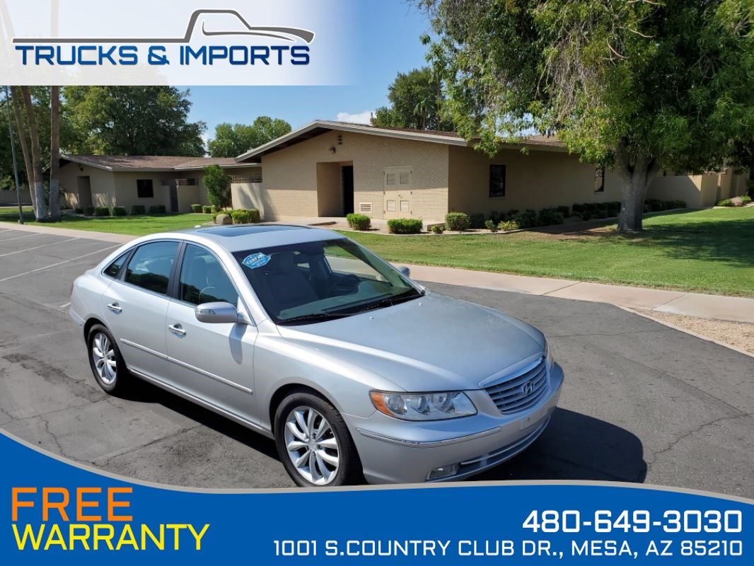 2008 Hyundai Azera Limited Clean CarFax Detailed Service Records!