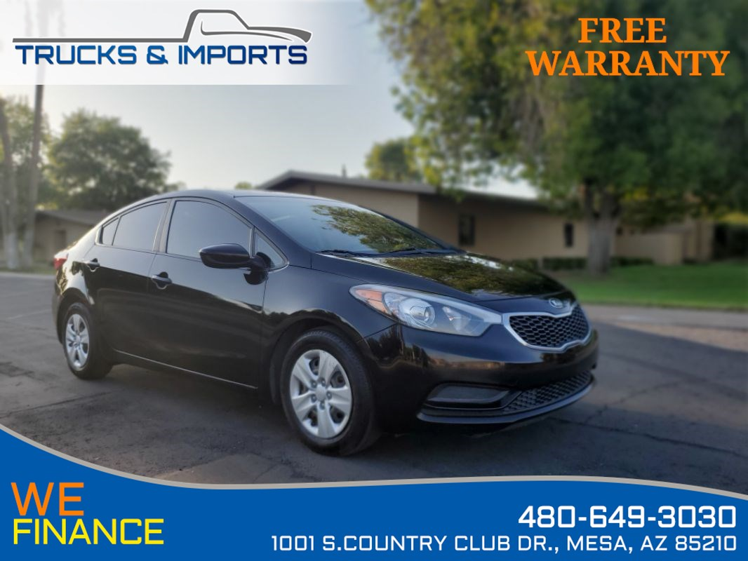 2015 Kia Forte LX Clean CarFax 3 in stock!