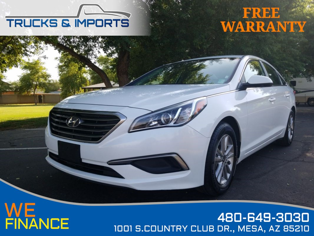 2016 Hyundai Sonata 2.4L SE Clean CarFax plus TWO in stock!