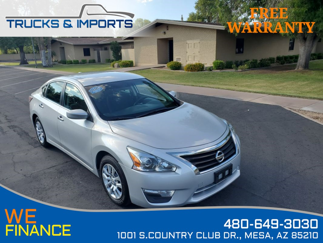 2015 Nissan Altima 2.5 Clean CarFax shows Detailed Service Records!