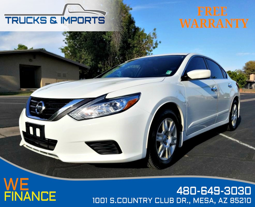 2017 Nissan Altima 2.5 S One Owner Clean CarFax Service Records!