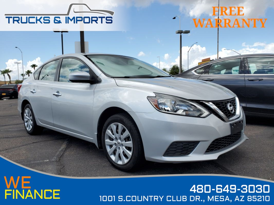 2016 Nissan Sentra SV Clean CarFax shows Detailed Service Records!