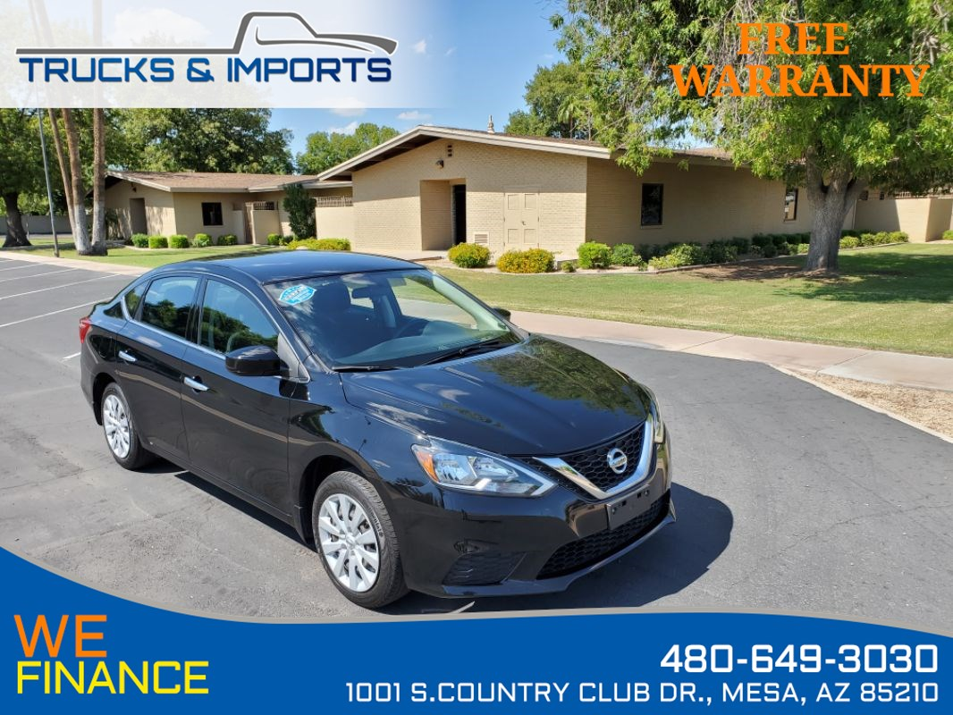 2016 Nissan Sentra S Clean CarFax ONLY 34K miles