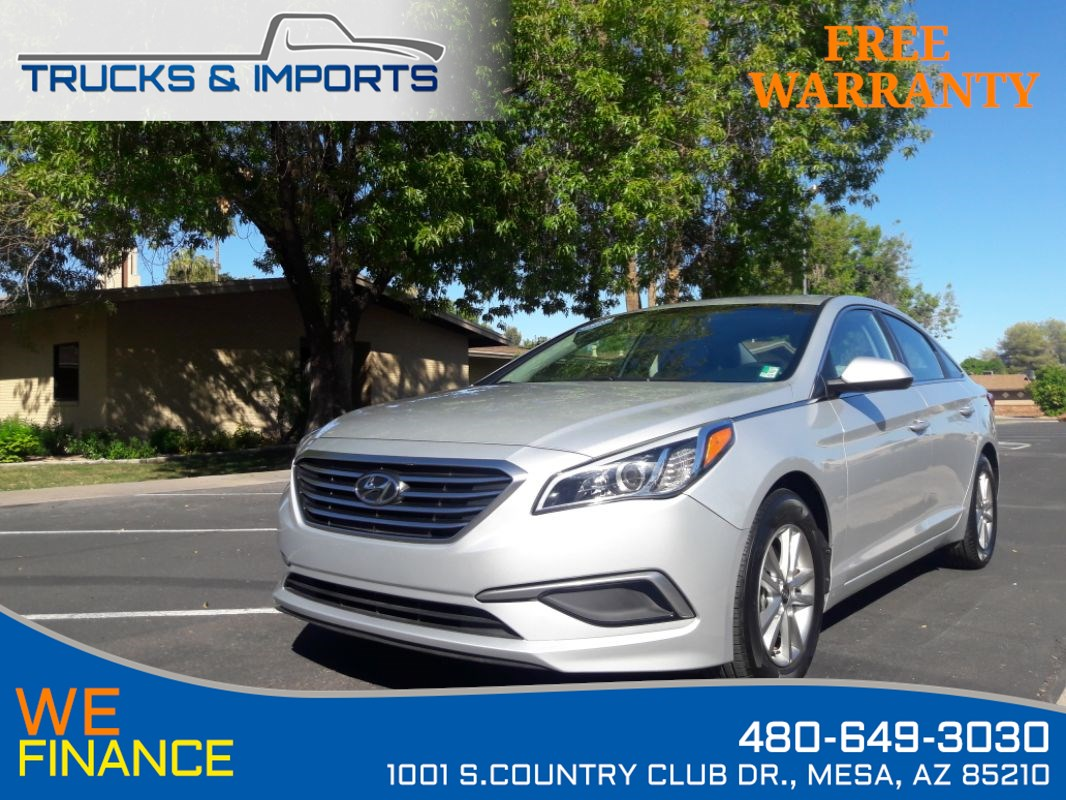 2017 Hyundai Sonata 2.4L Clean CarFax 3 in stock!