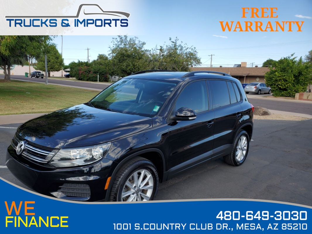 2015 Volkswagen Tiguan SE Clean CarFax shows Dealership Service Records!