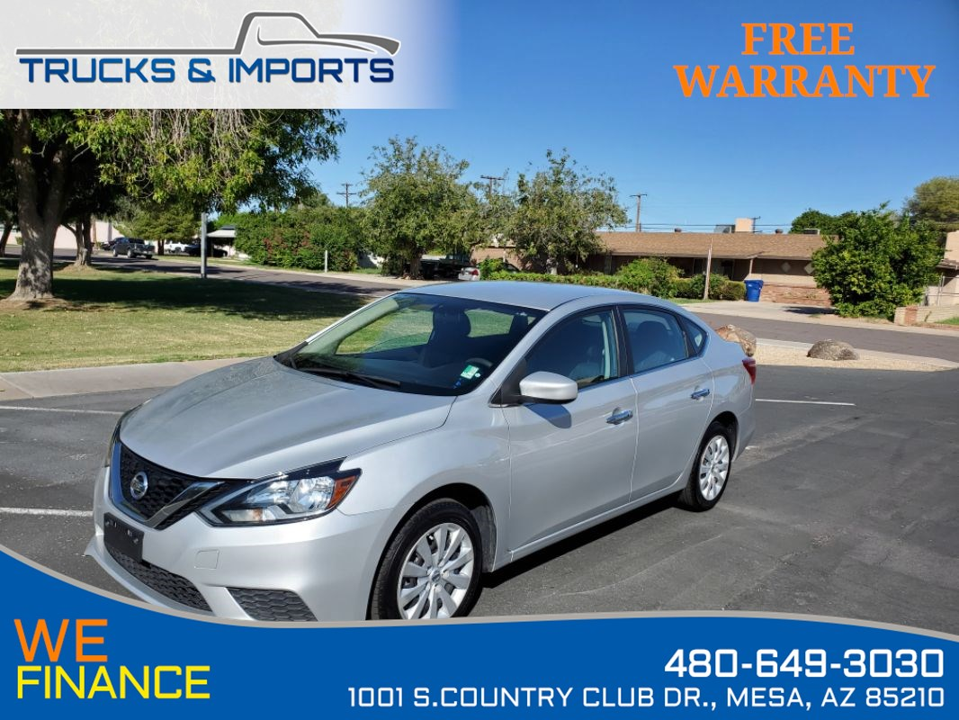 2017 Nissan Sentra SV Clean CarFax plus Bluetooth and Backup Camera!