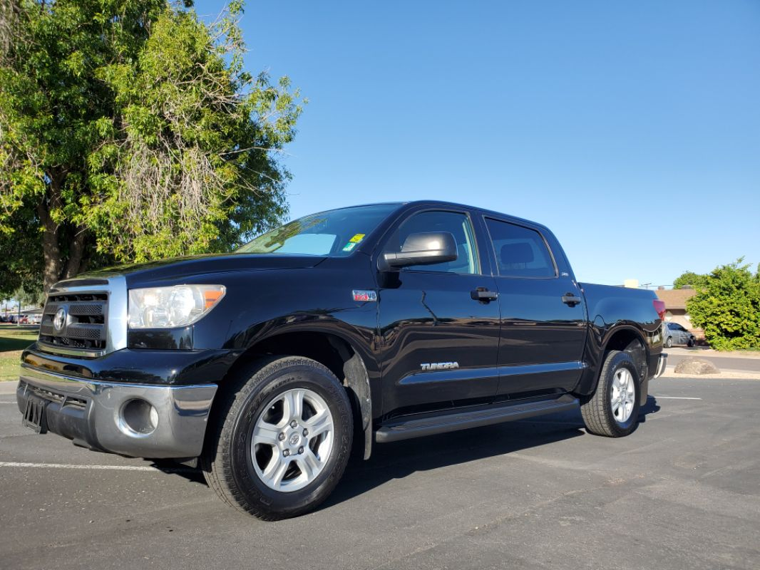 2010 Toyota Tundra SR5 1 Owner! CrewMax Clean CarFax Detailed Records