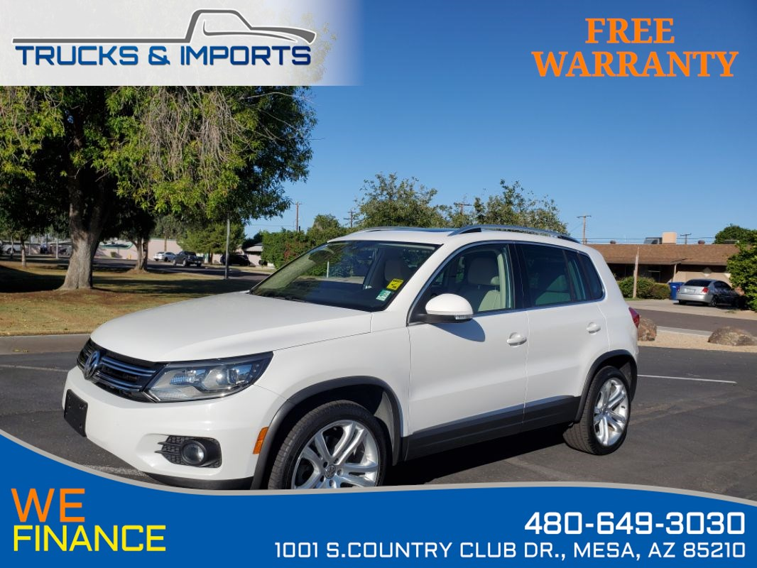 2013 Volkswagen Tiguan SEL Clean CarFax shows VW Service Records!