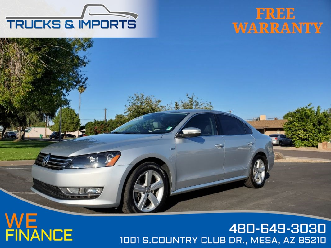 2015 Volkswagen Passat 1.8T Limited Edition Clean CarFax Service Records!