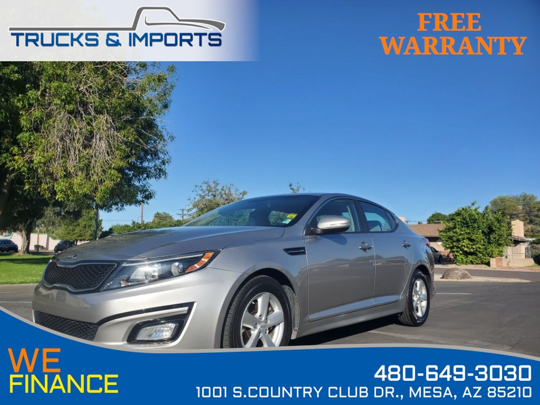 2014 Kia Optima LX Clean CarFax shows Detailed Service Records!