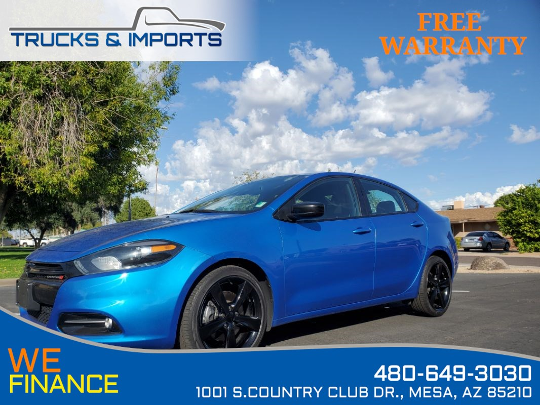 2015 Dodge Dart SXT Cool Color plus 35 MPG!