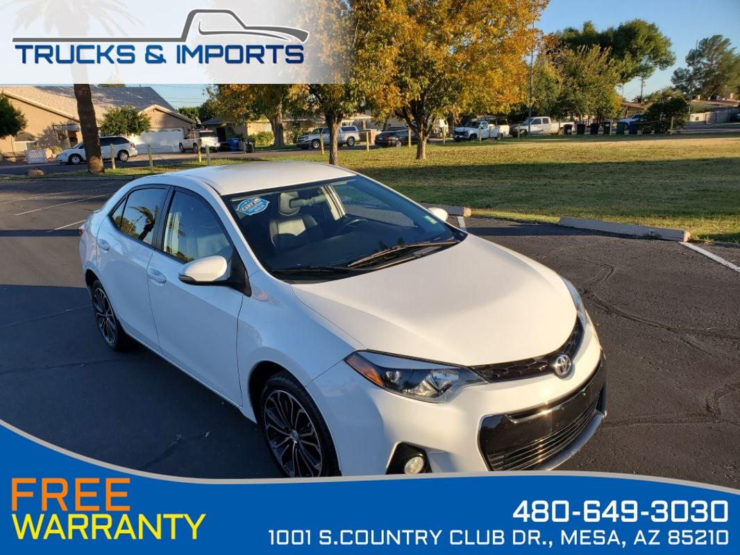 2016 Toyota Corolla S One Owner Clean CarFax Dealership Records!