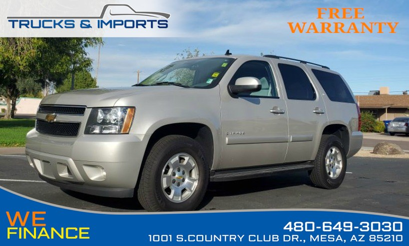 2008 Chevrolet Tahoe LT w/1LT One Owner Third Row Seating!
