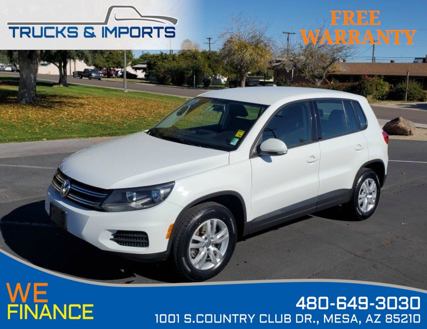 2014 Volkswagen Tiguan S Clean CarFax VW Dealership Service Records!