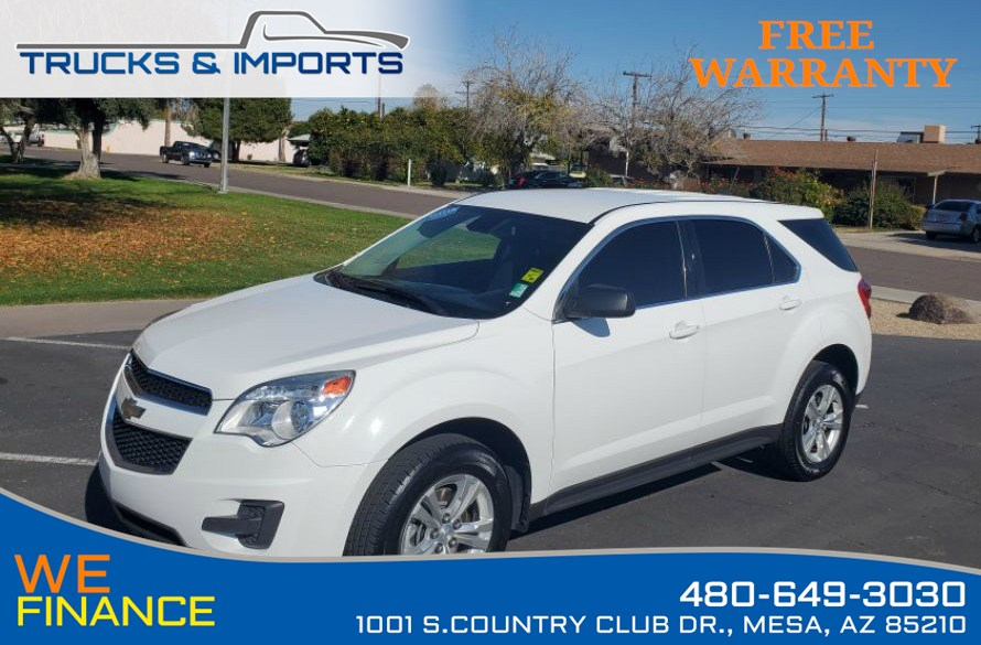 2015 Chevrolet Equinox LS Clean CarFax shows Dealership Services Records!