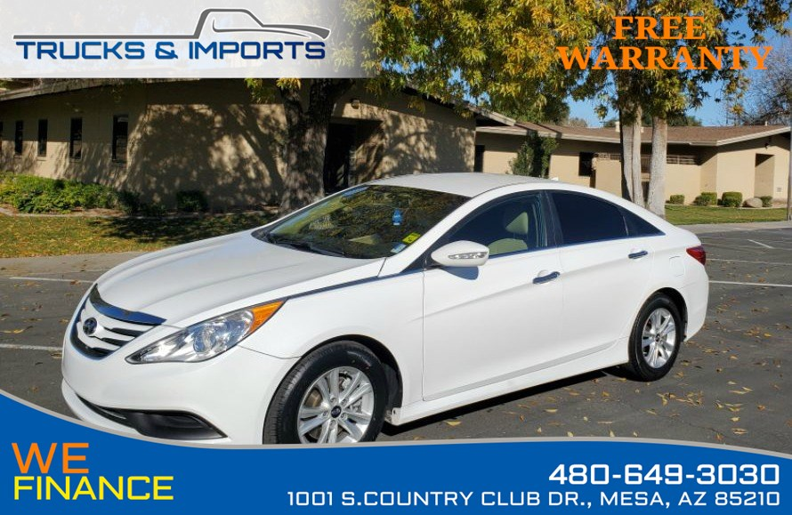 2014 Hyundai Sonata GLS Clean CarFax shows Dealership Service Records!