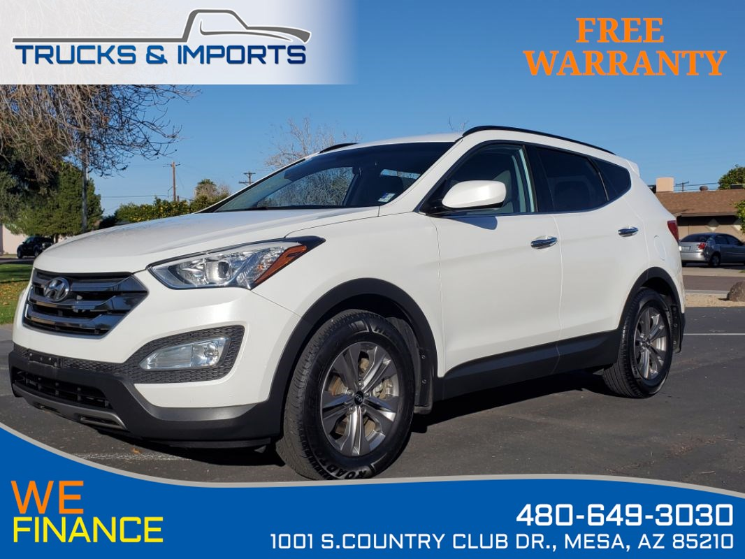 2016 Hyundai Santa Fe Sport Clean CarFax shows Dealership Service Record