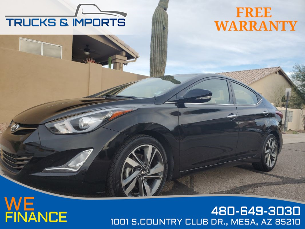 2016 Hyundai Elantra Limited Clean CarFax Dealership Service Records!
