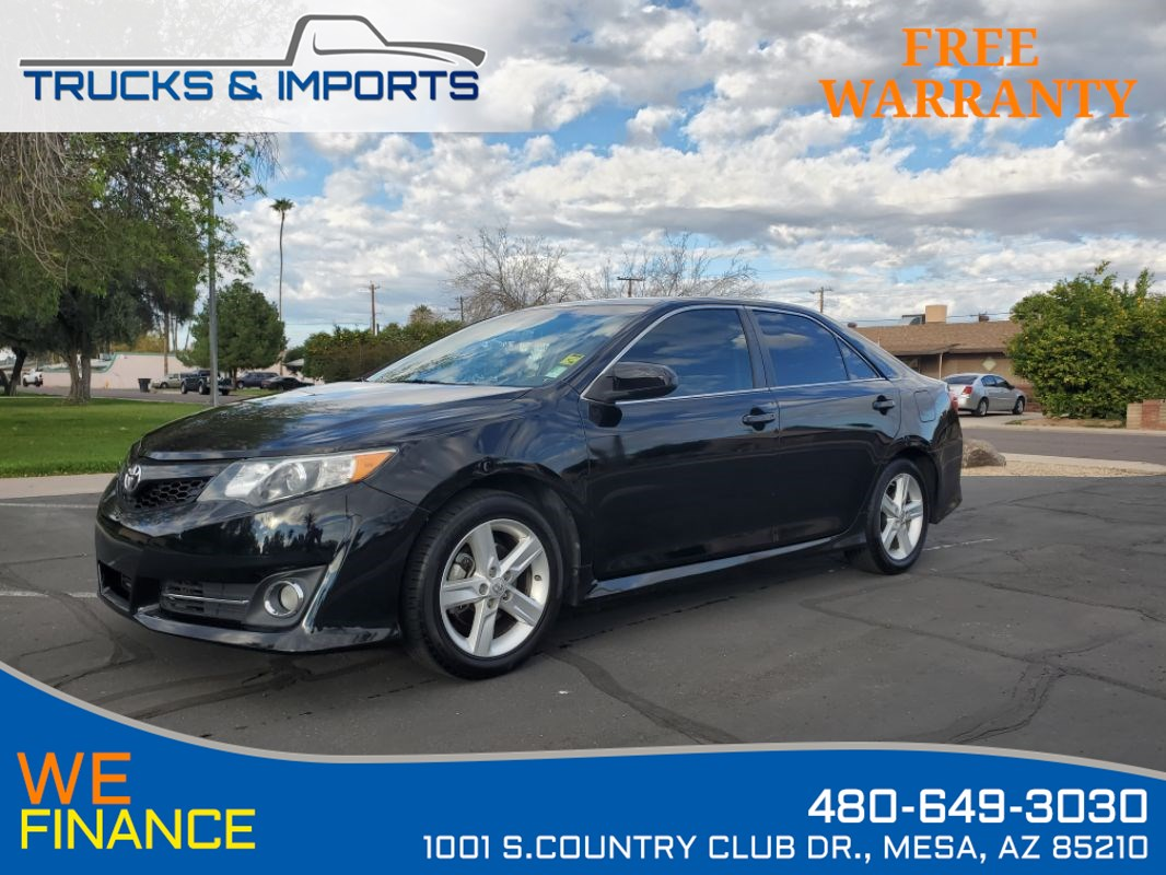 2012 Toyota Camry SE Clean CarFax shows Detailed Service Records!