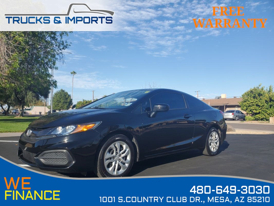 2015 Honda Civic LX ONE Owner VTEC 39 MPG!