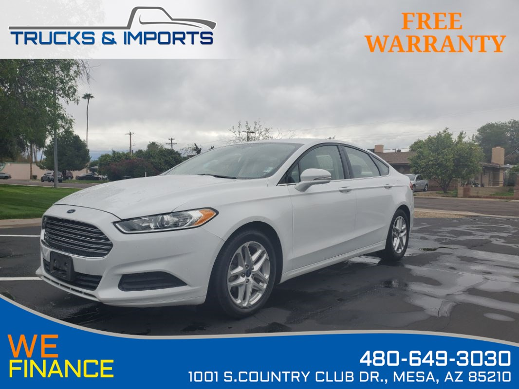 2016 Ford Fusion SE Eco Boost Clean CarFax Dealership Records!