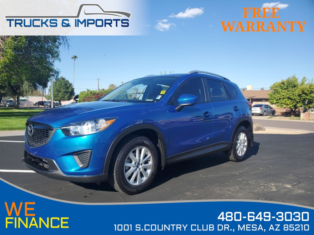 2014 Mazda CX-5 Sport CarFax shows Dealership Service Records!