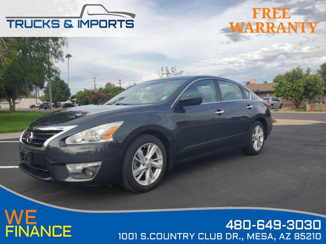2015 Nissan Altima 2.5 S Clean CarFax  Dealership Service Records!