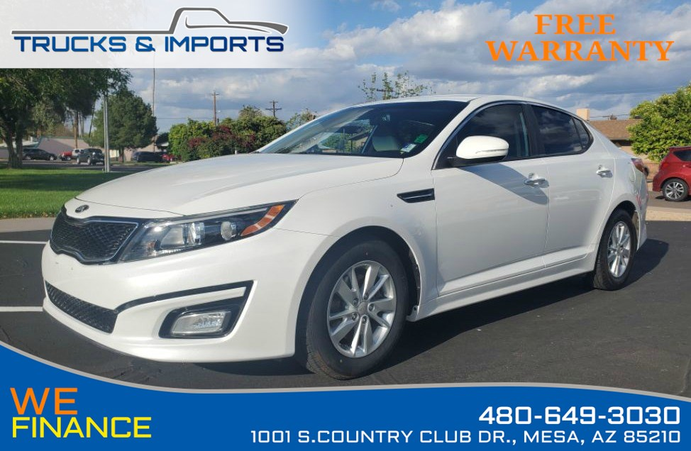 2014 Kia Optima LX Clean CarFax shows Dealership Service Records!