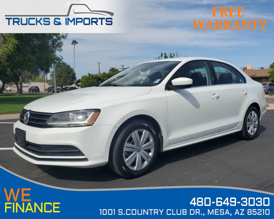 2017 Volkswagen Jetta 1.4T S Clean CarFax 6 in stock!