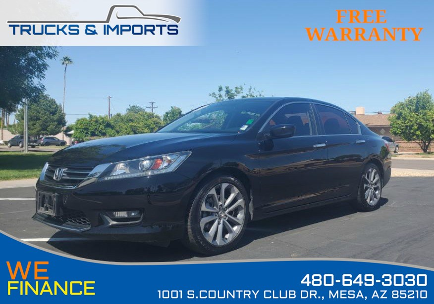 2015 Honda Accord Sport VTEC One Owner Clean CarFax!