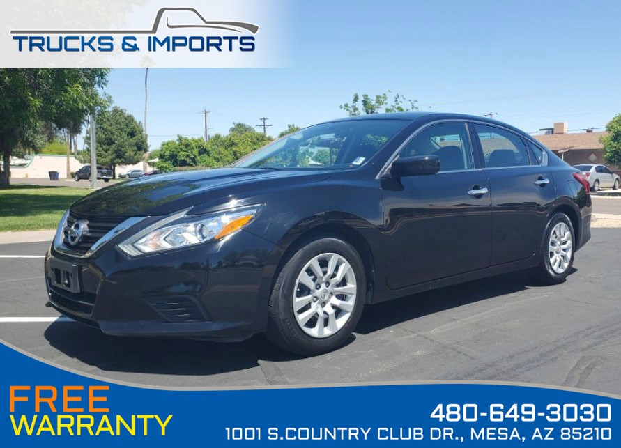 2016 Nissan Altima 2.5 S Clean CarFax Dealership Service Records!