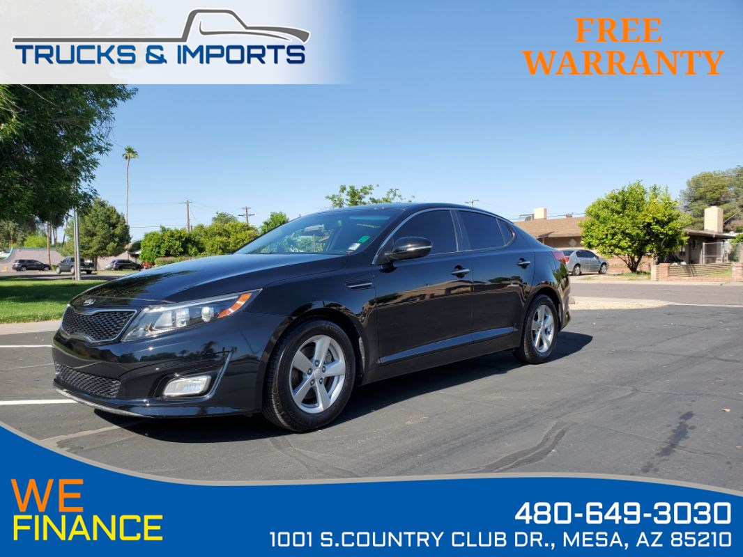 2015 Kia Optima LX Bluetooth plus 3 in stock!