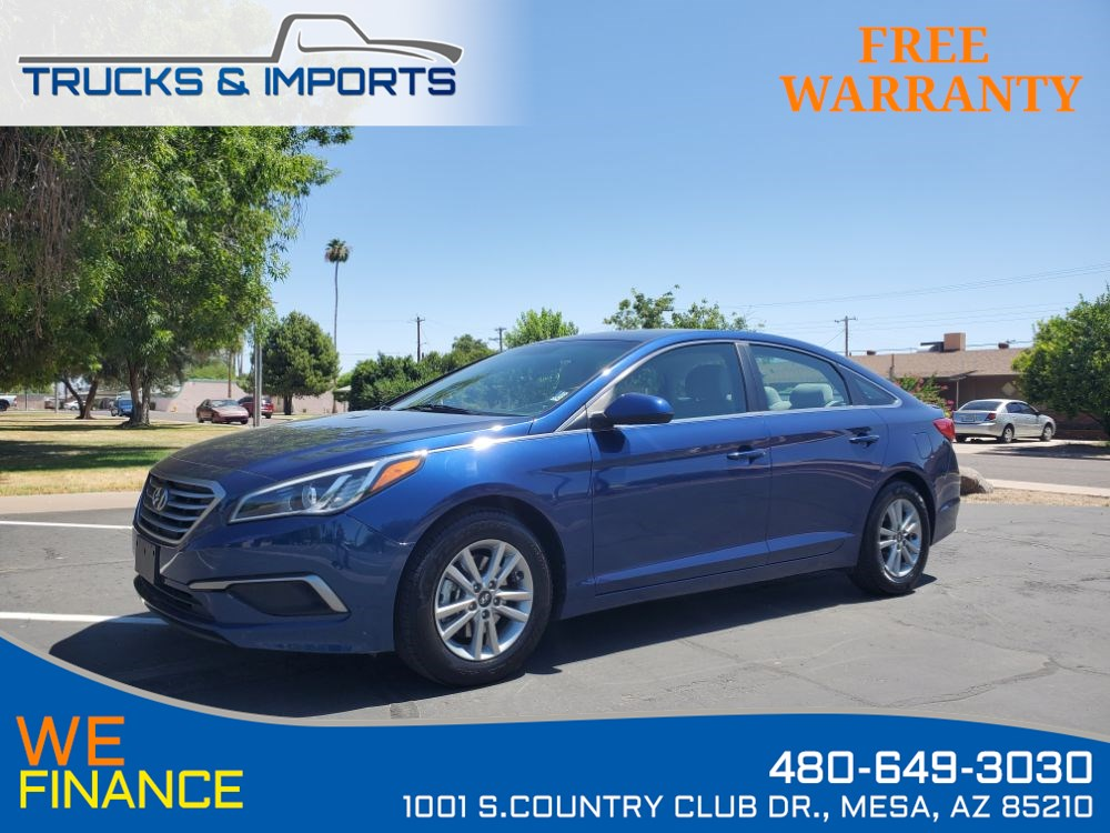 2017 Hyundai Sonata 2.4L Bluetooth plus 2 in stock!