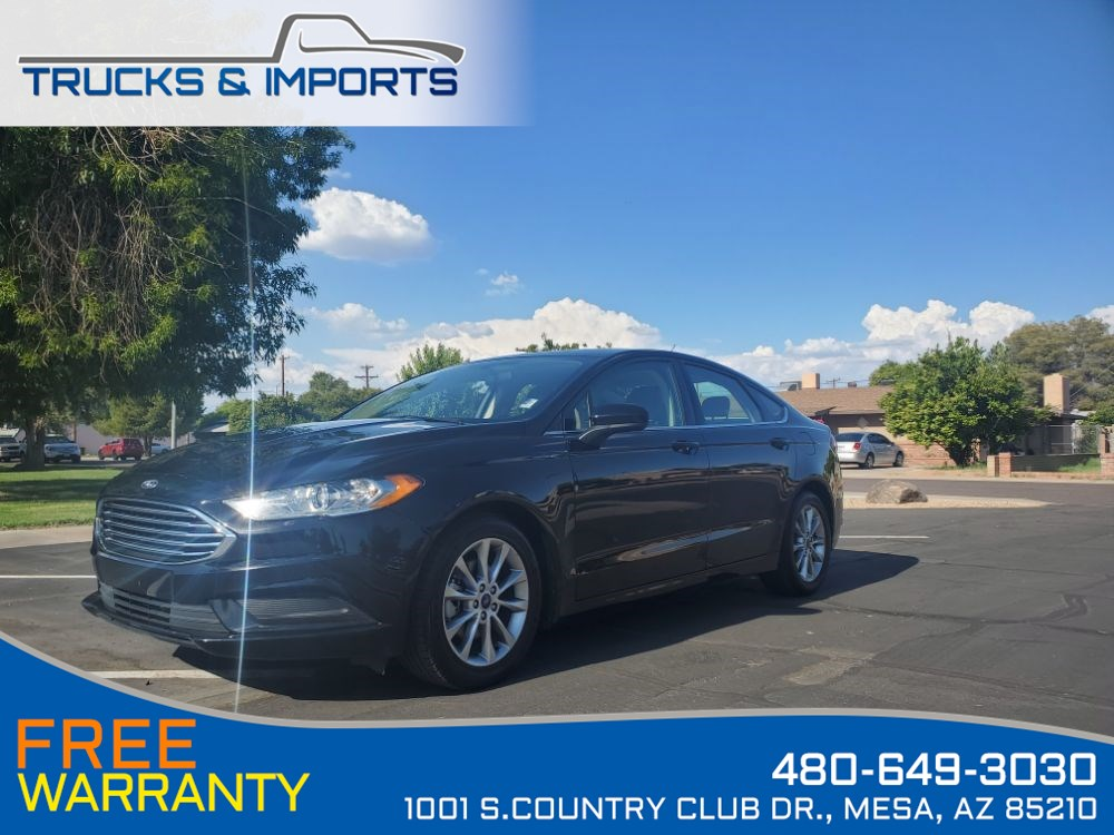 2017 Ford Fusion SE Bluetooth, Backup, 4 in stock!