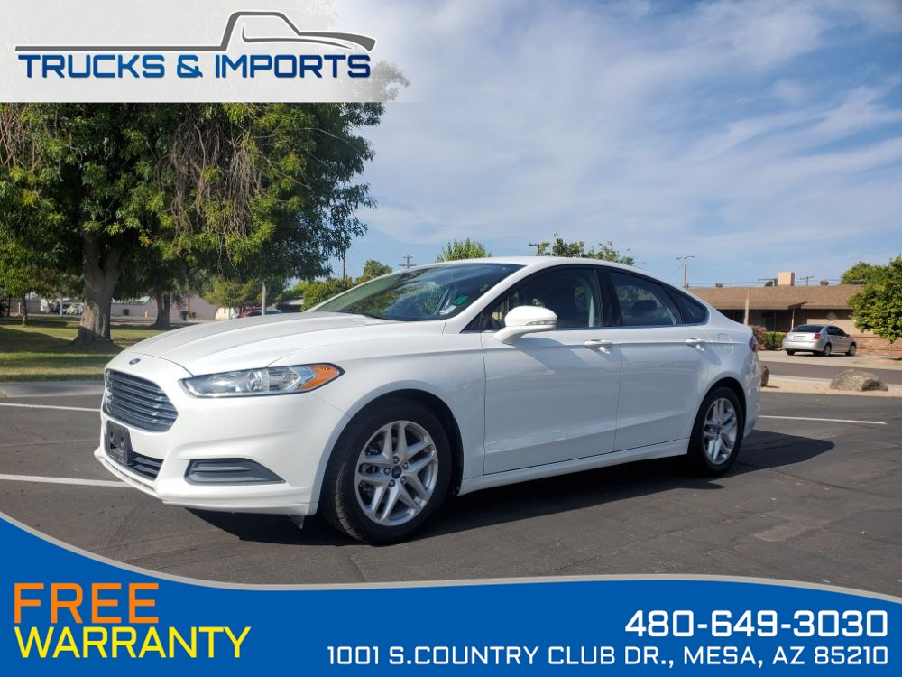 2015 Ford Fusion SE Clean CarFax shows Dealership Service Records!