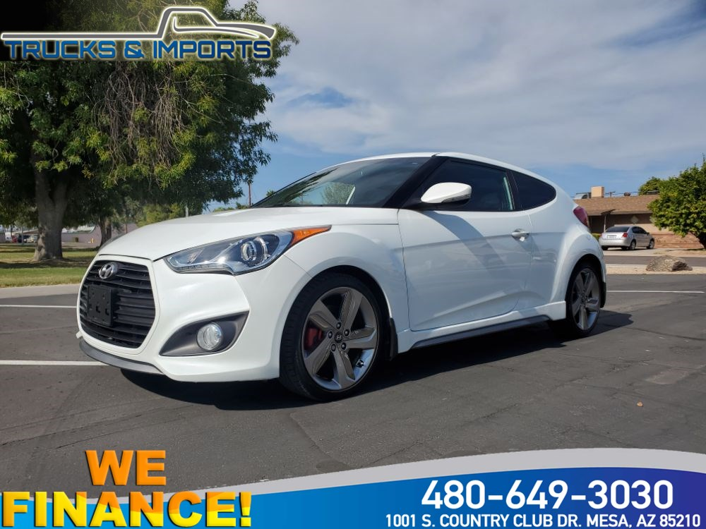 2013 Hyundai Veloster Turbo Clean CarFax shows Detailed Service Records!