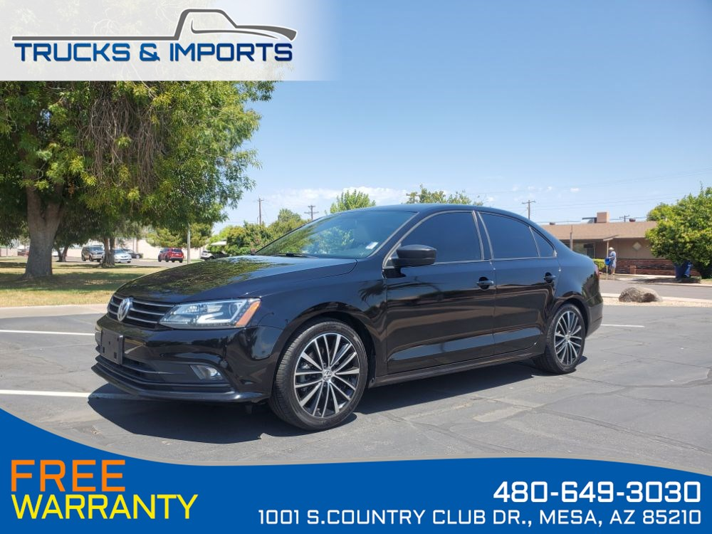 2016 Volkswagen Jetta Sedan 1.8T S One Owner, Bluetooth, Backup Camera!