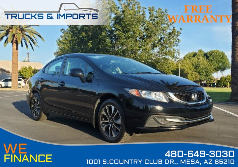 2013 Honda Civic Sdn EX Clean CarFax shows Detailed Service Records!